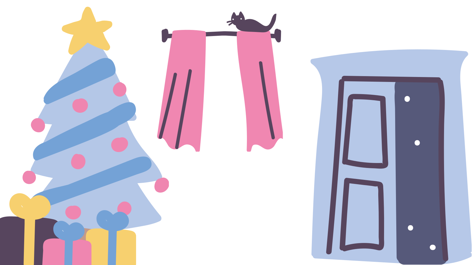 style Cozy christmas home Vector images in PNG and SVG   Icons8 Illustrations