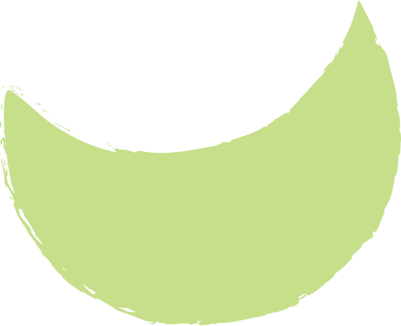 crescent-light-green Clipart illustration in PNG, SVG