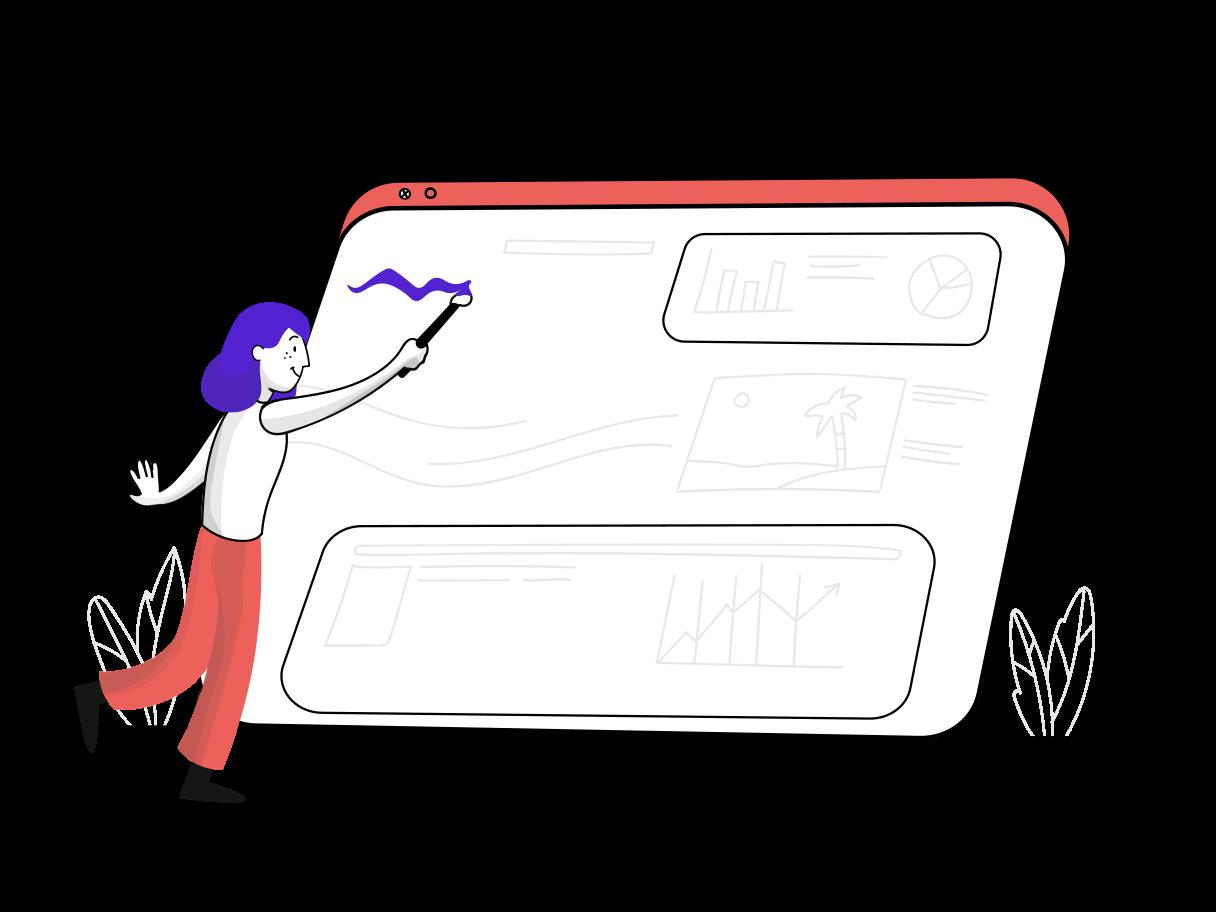 Web design Clipart illustration in PNG, SVG