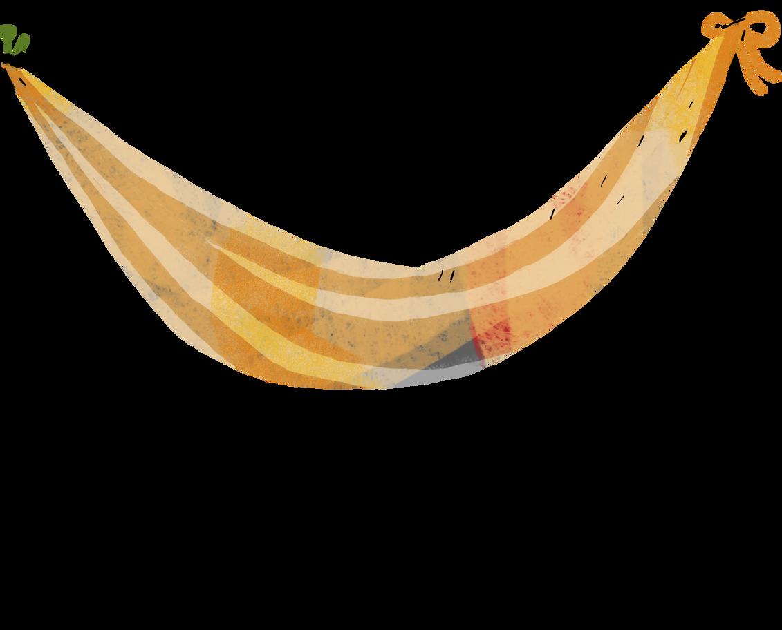 hammock Clipart illustration in PNG, SVG