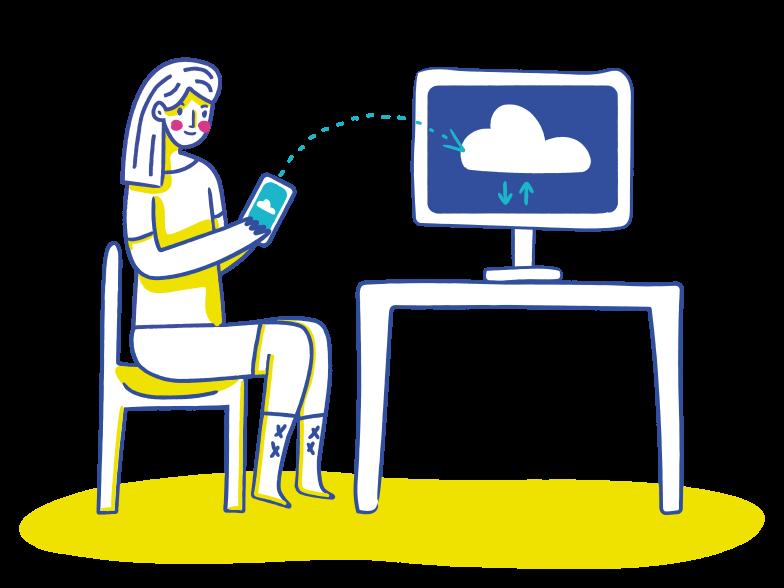 SaaS Clipart illustration in PNG, SVG