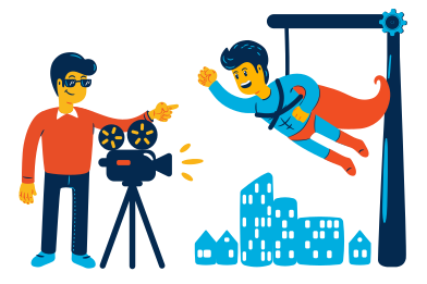 style Film shooting images in PNG and SVG | Icons8 Illustrations