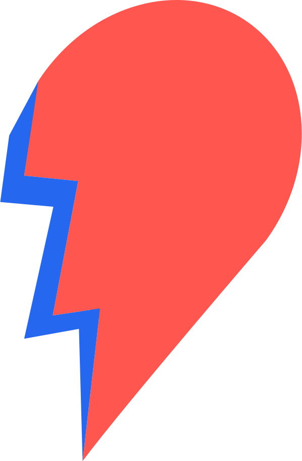 half a heart Clipart illustration in PNG, SVG