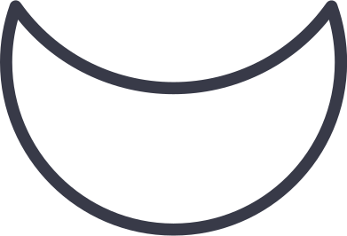 style crescent shape images in PNG and SVG | Icons8 Illustrations