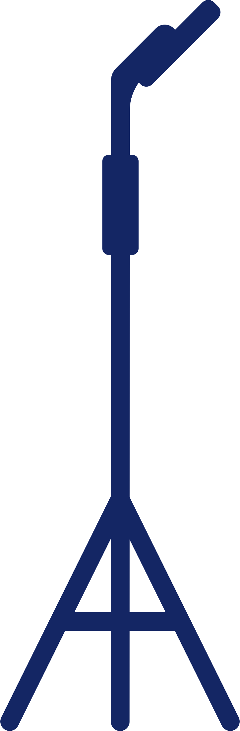 microphone holder Clipart illustration in PNG, SVG
