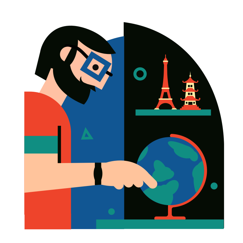 style The Traveler Vector images in PNG and SVG | Icons8 Illustrations