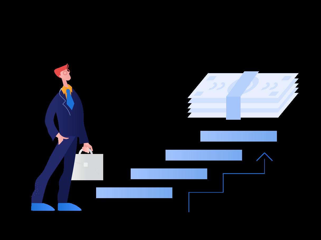 Strategic plan for business Clipart illustration in PNG, SVG