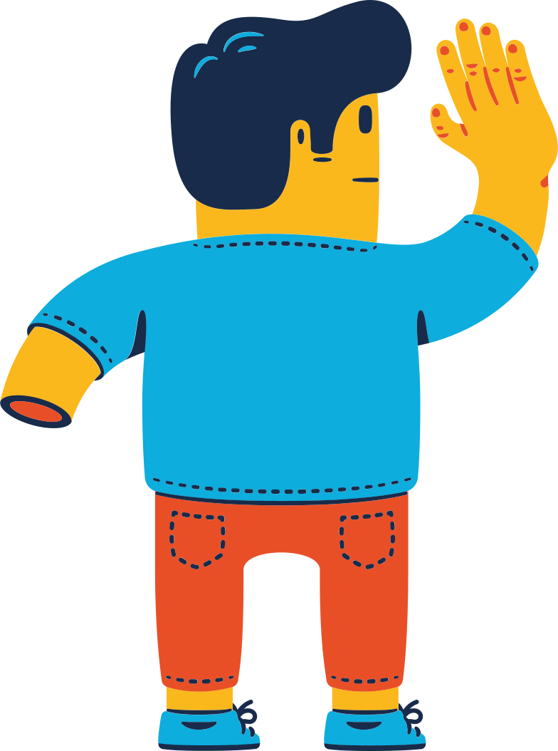 man without hand Clipart illustration in PNG, SVG