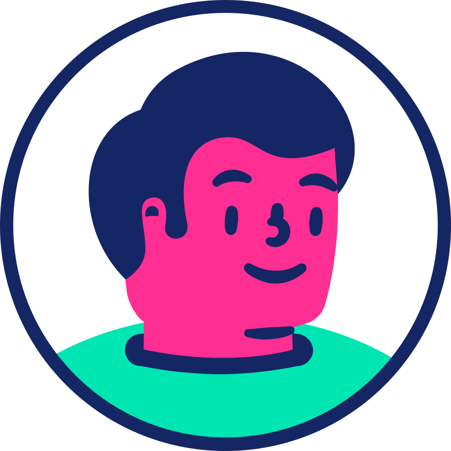 man face id Clipart illustration in PNG, SVG