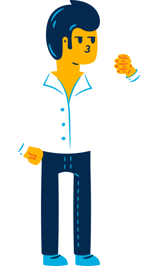 office worker Clipart illustration in PNG, SVG