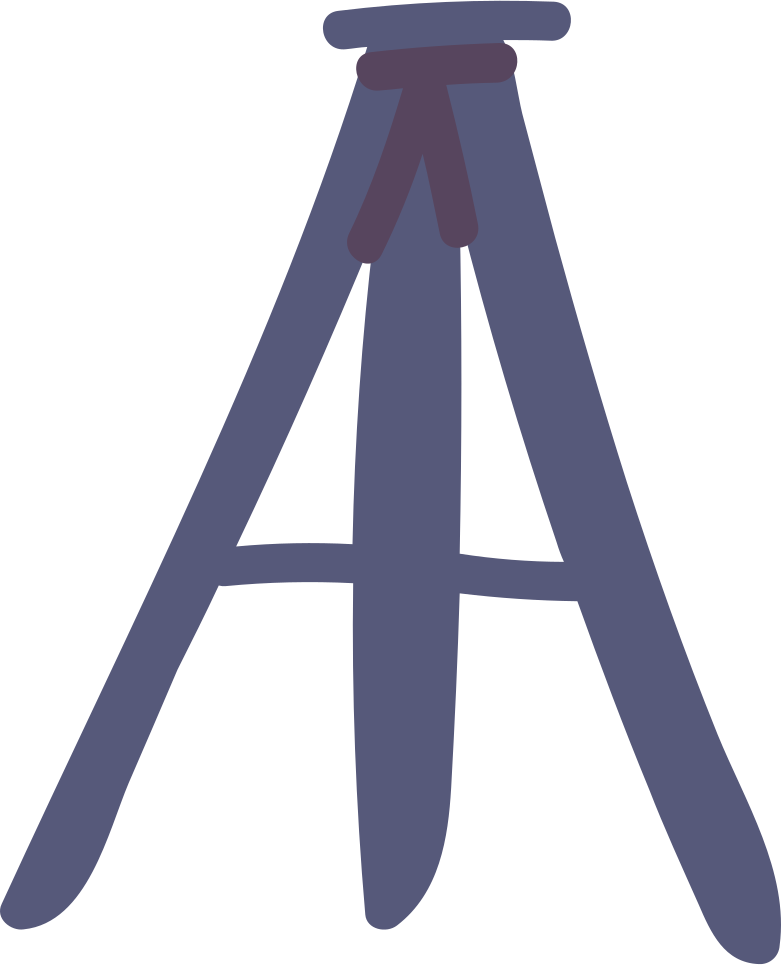 tripod Clipart illustration in PNG, SVG