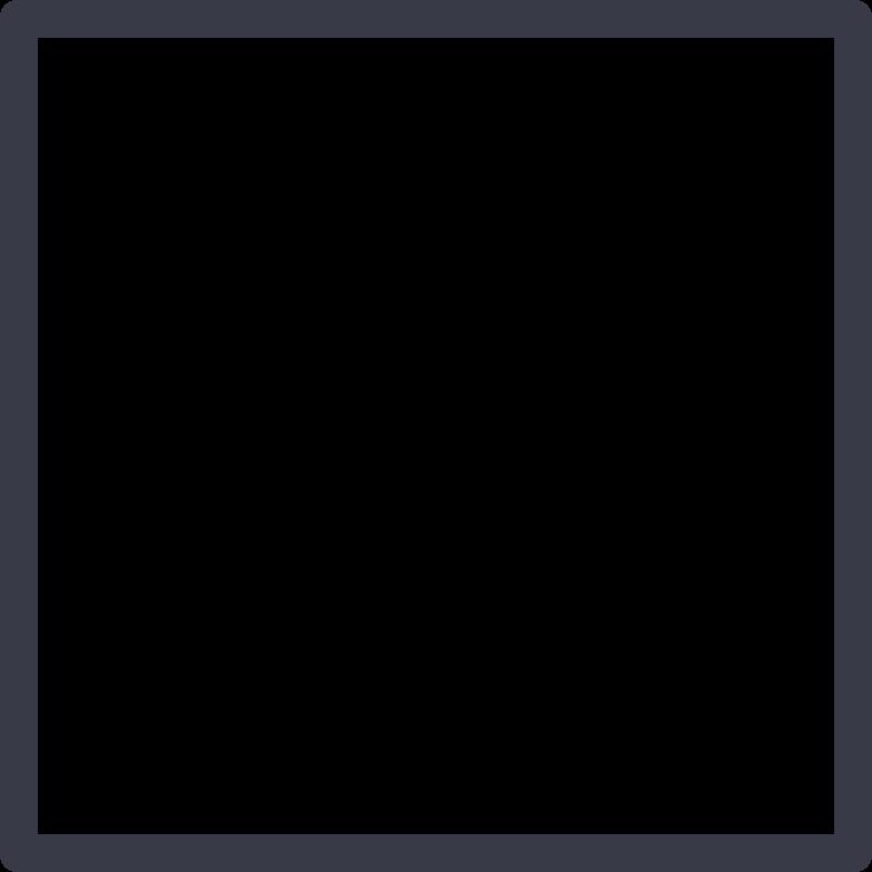 Quadratische form Clipart-Grafik als PNG, SVG