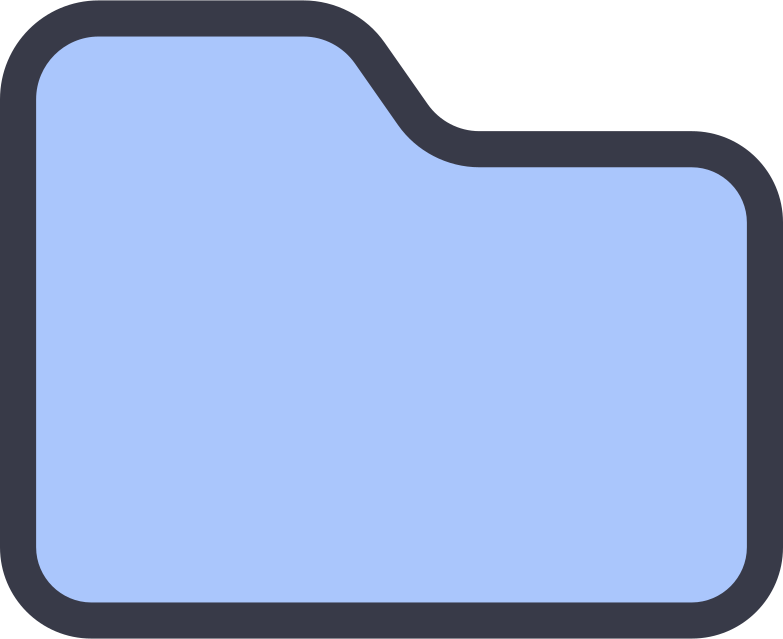 folder Clipart illustration in PNG, SVG