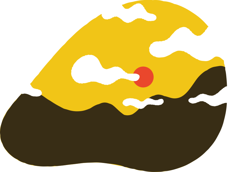 mountain landscape Clipart illustration in PNG, SVG
