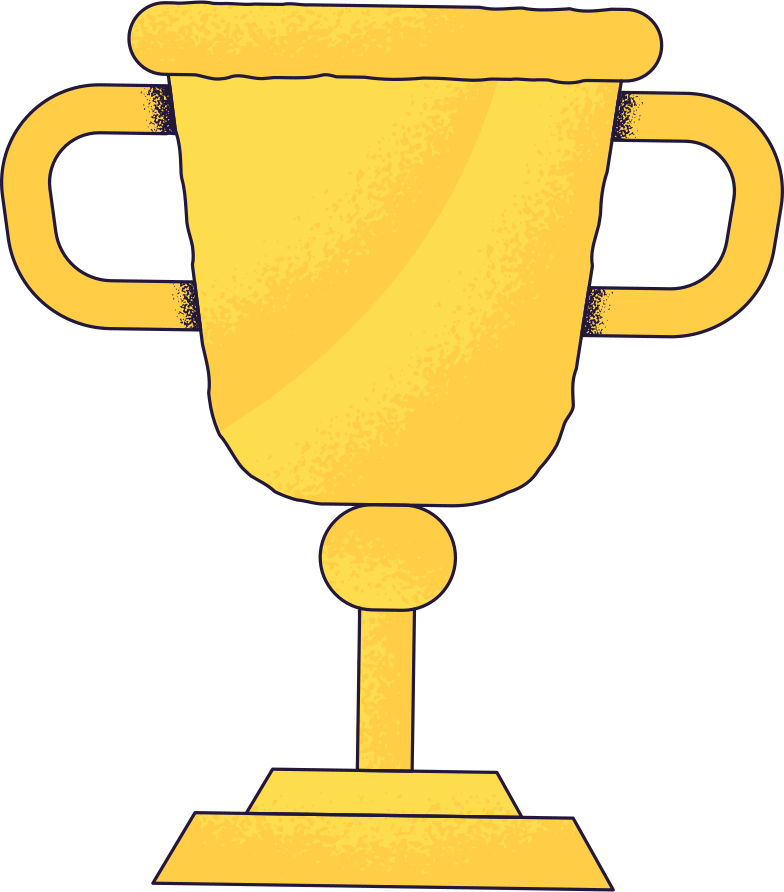 success  trophy Clipart illustration in PNG, SVG