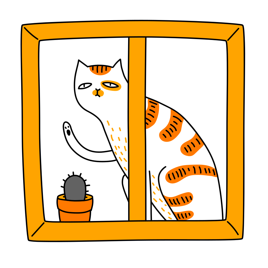 Isolation Clipart illustration in PNG, SVG