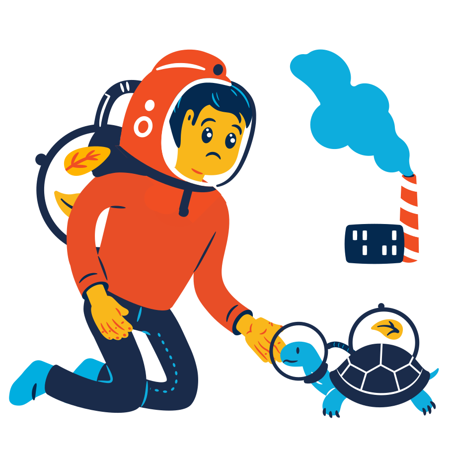 Air pollution Clipart illustration in PNG, SVG