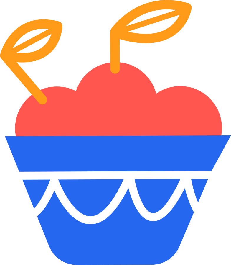 style basket with apples Vector images in PNG and SVG | Icons8 Illustrations