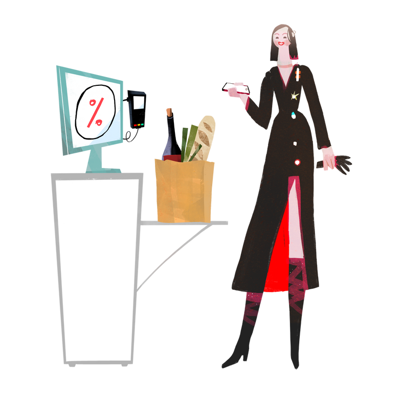 style Self service checkout Vector images in PNG and SVG | Icons8 Illustrations