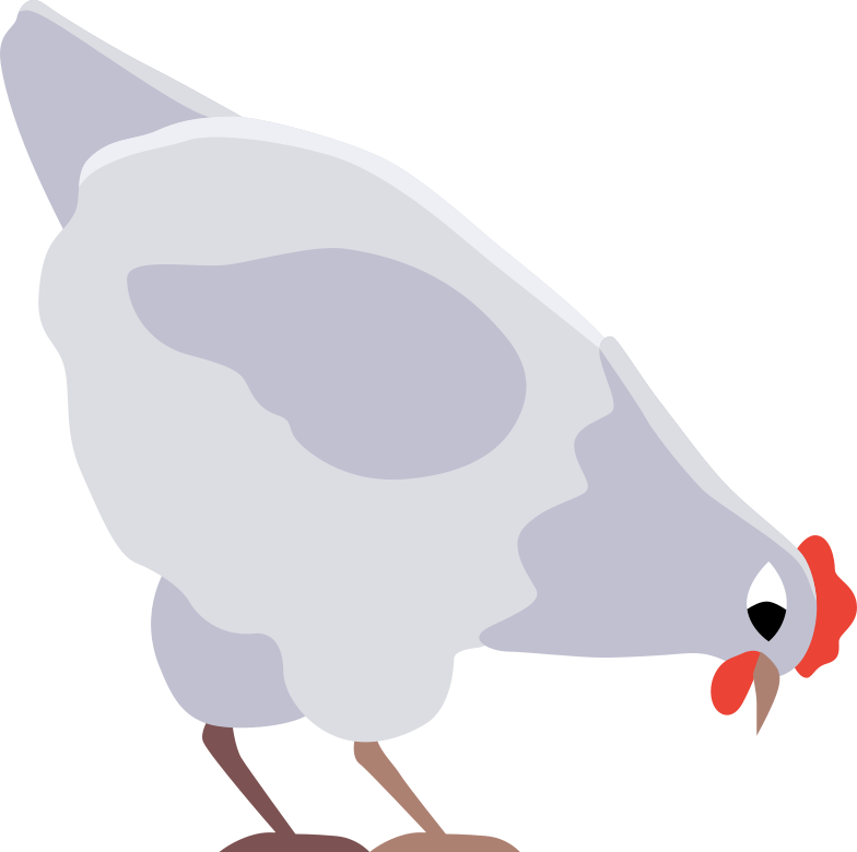 chicken Clipart illustration in PNG, SVG