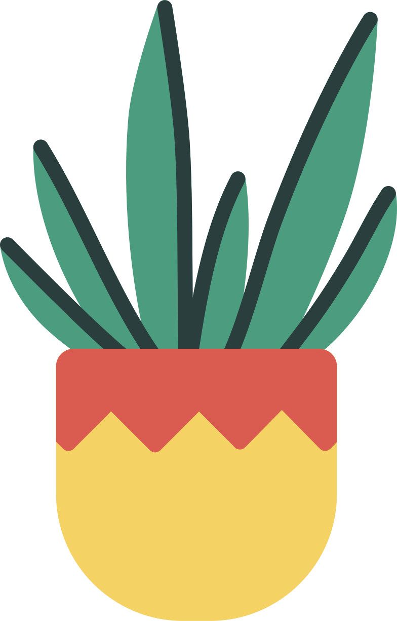 potted plant Clipart illustration in PNG, SVG