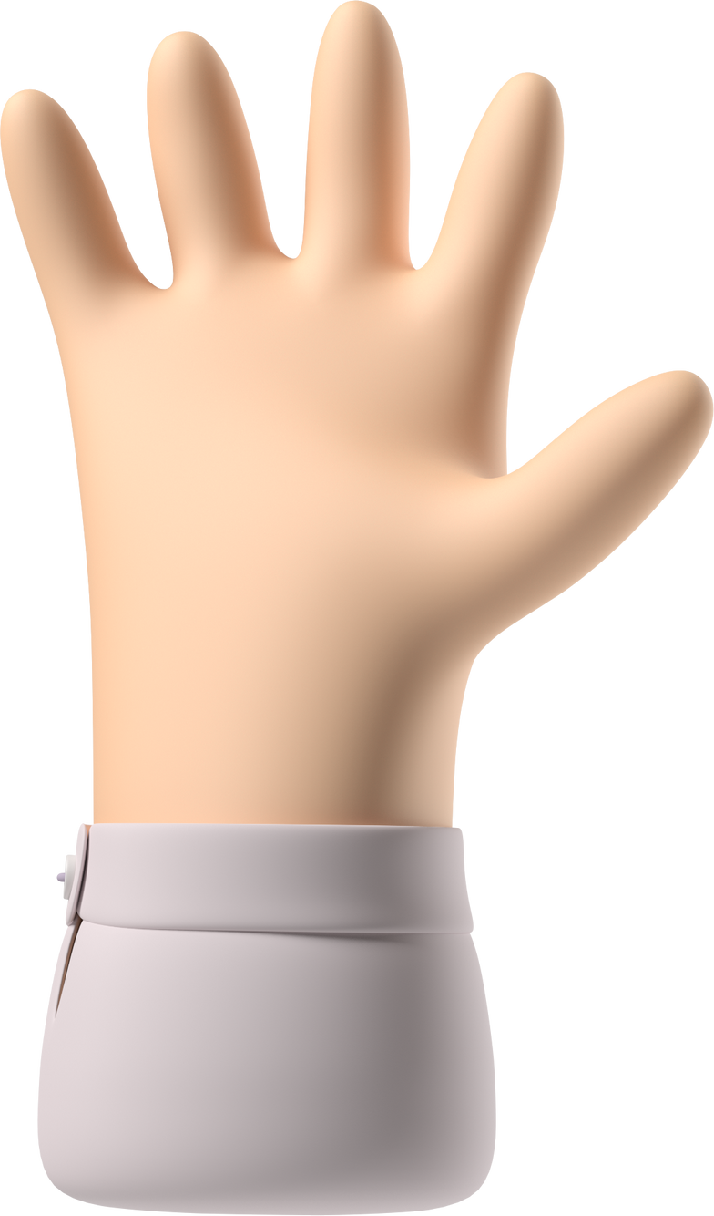 style hand with fingers splayed Vector images in PNG and SVG | Icons8 Illustrations