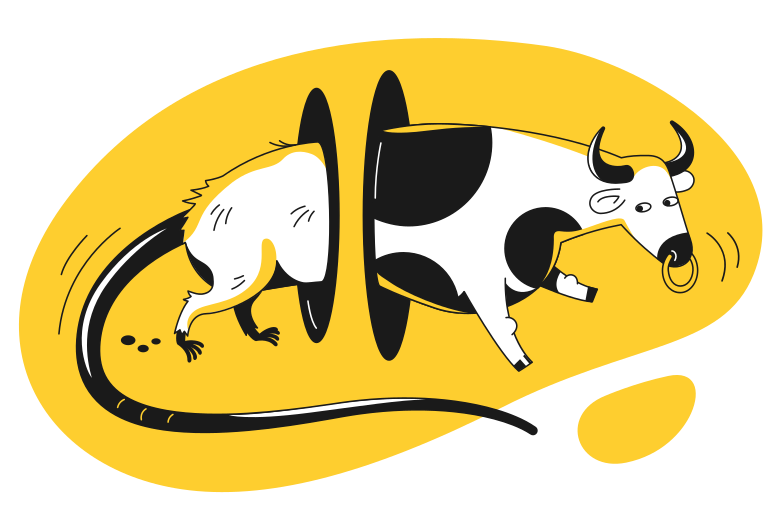 style Rat bull Vector images in PNG and SVG | Icons8 Illustrations