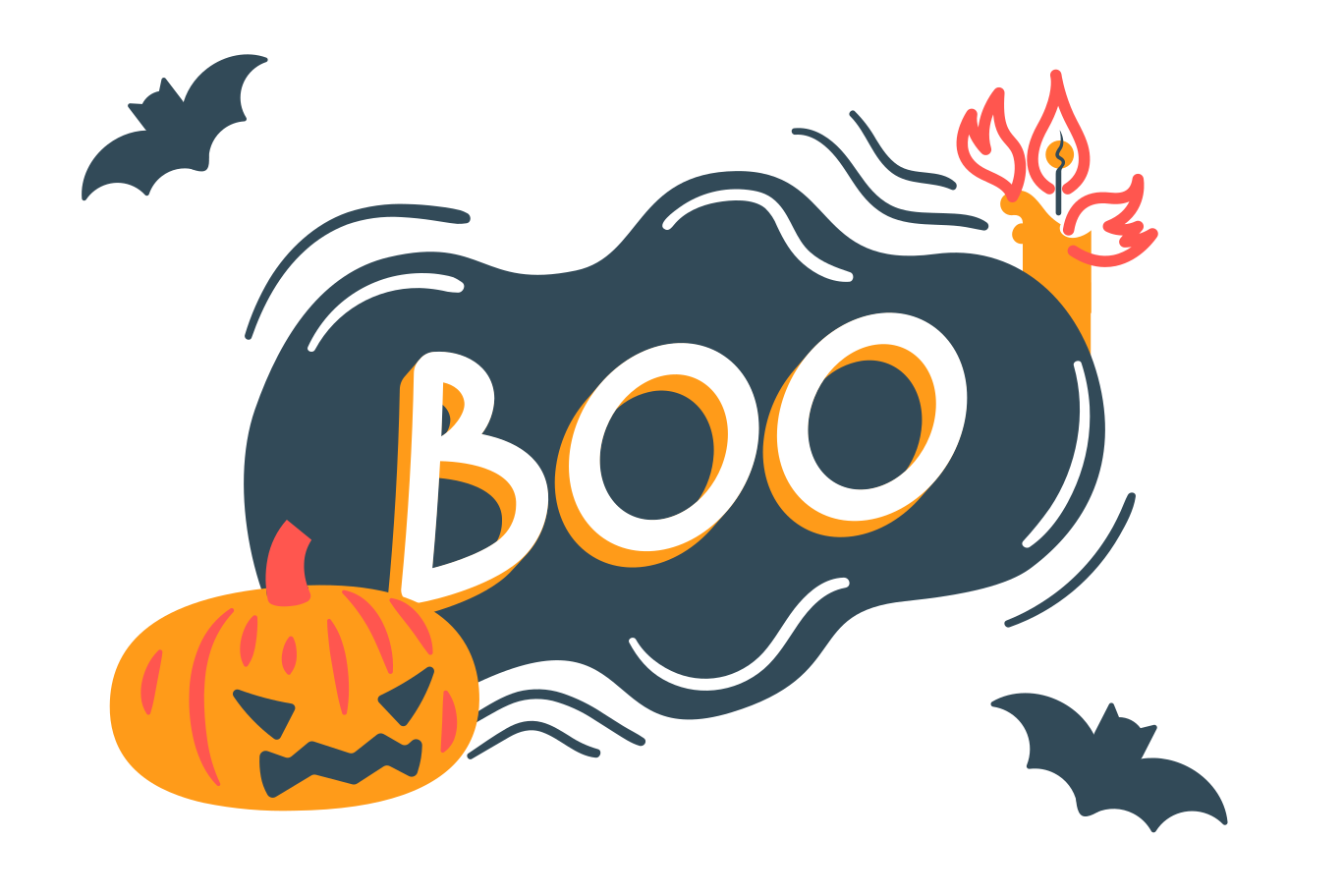 style Halloween boo Vector images in PNG and SVG | Icons8 Illustrations