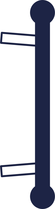 welcome  door handle 2 line Clipart illustration in PNG, SVG