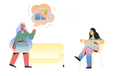 style Psychologist session images in PNG and SVG | Icons8 Illustrations