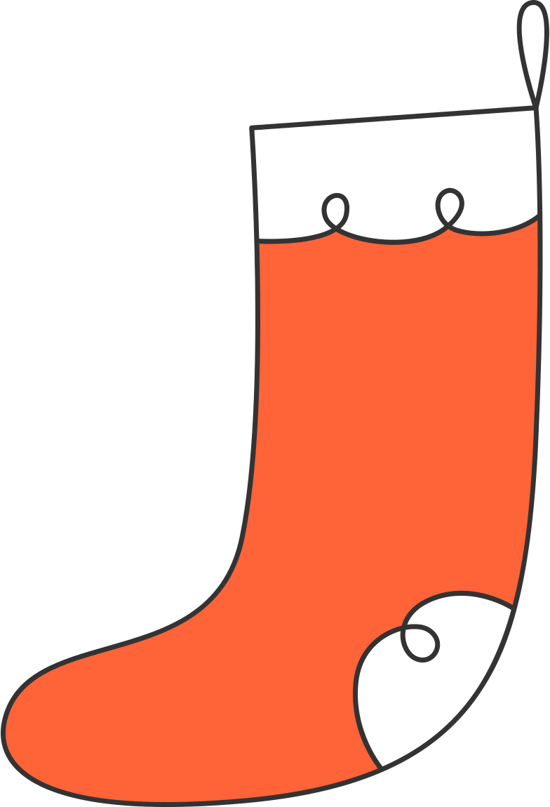 style christmas sock Vector images in PNG and SVG | Icons8 Illustrations