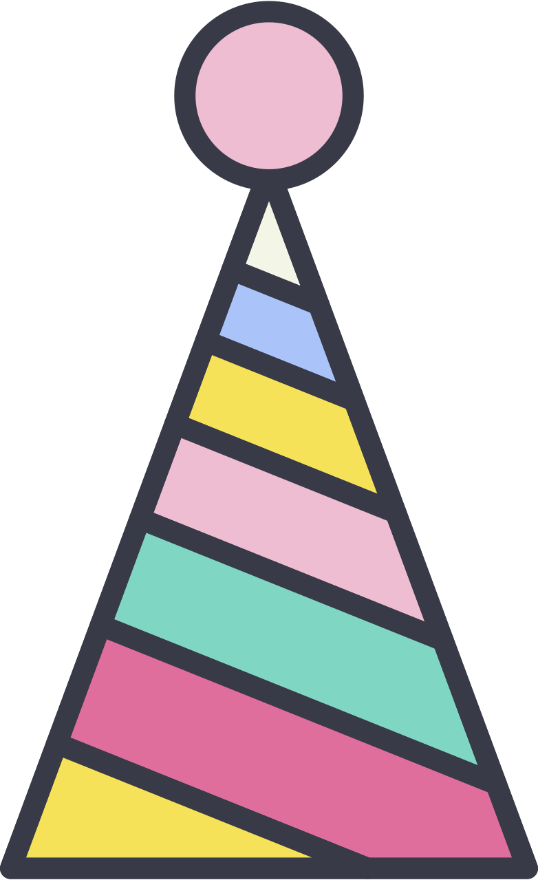 style party hat Vector images in PNG and SVG | Icons8 Illustrations