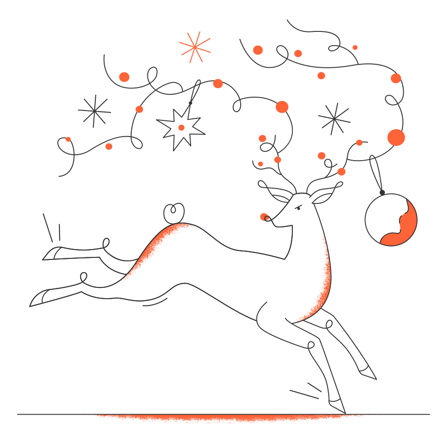 style Christmas deer Vector images in PNG and SVG   Icons8 Illustrations