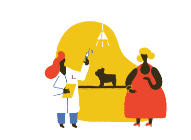 style Taking dog to vet images in PNG and SVG | Icons8 Illustrations