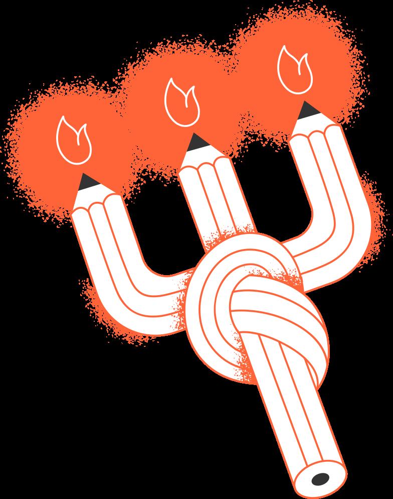 PNGとSVGの  スタイルの 接続が2本のろうそくを失った ベクターイメージ | Icons8 イラスト