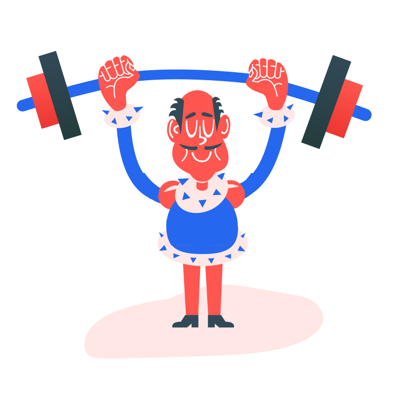 heavy athletics Clipart illustration in PNG, SVG
