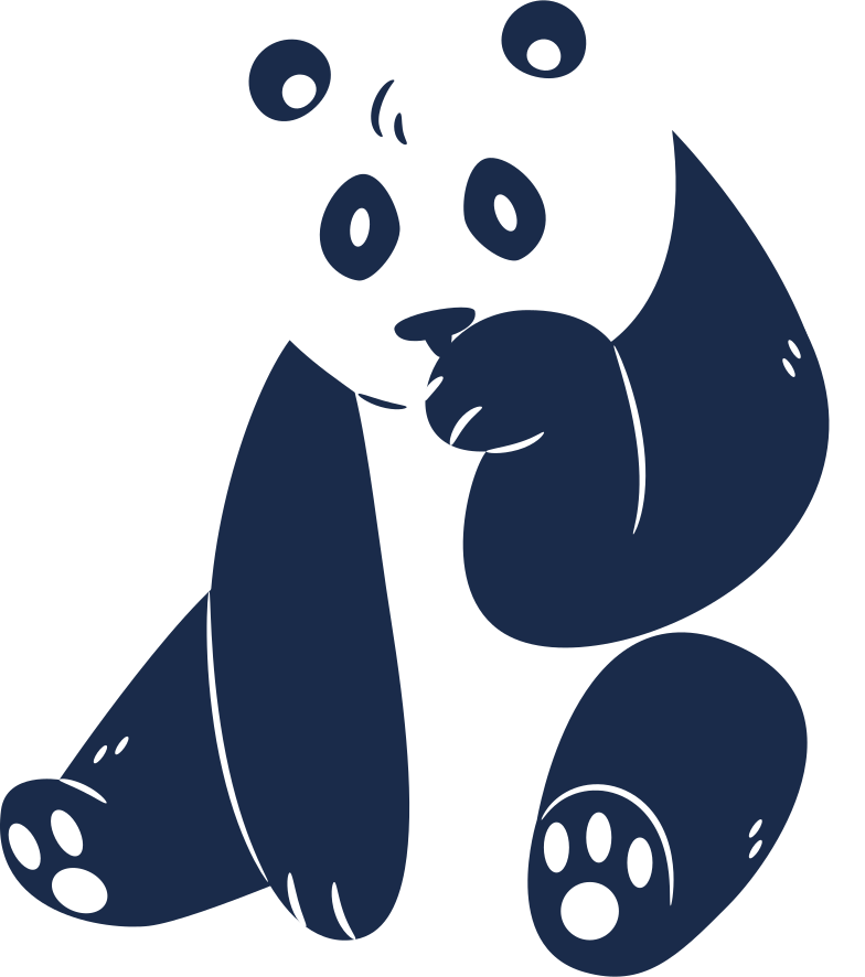 style panda sitting Vector images in PNG and SVG | Icons8 Illustrations