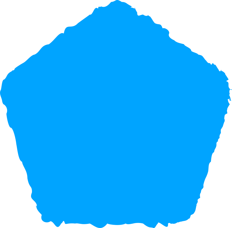 style pentagon sky blue Vector images in PNG and SVG | Icons8 Illustrations