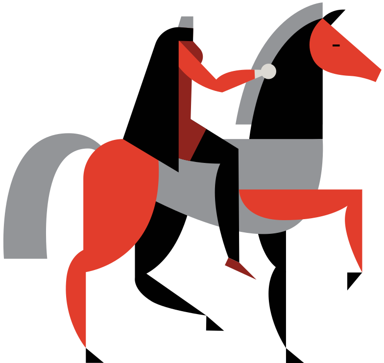 the headless  horseman Clipart illustration in PNG, SVG