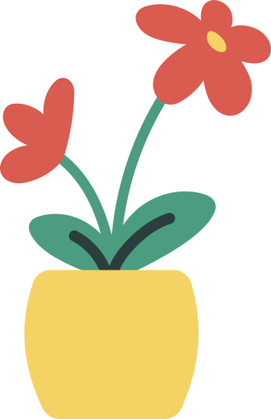 style flowers in a pot images in PNG and SVG | Icons8 Illustrations