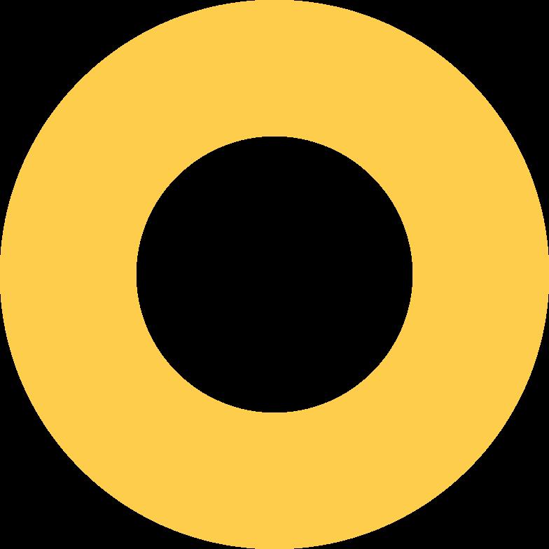 Иллюстрация кольцо-желтое в стиле  в PNG и SVG | Icons8 Иллюстрации
