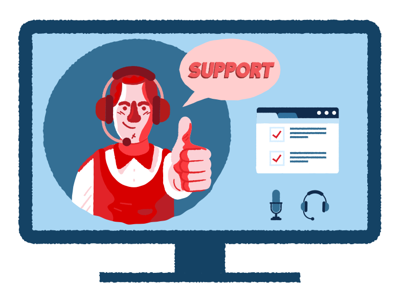Support Clipart illustration in PNG, SVG