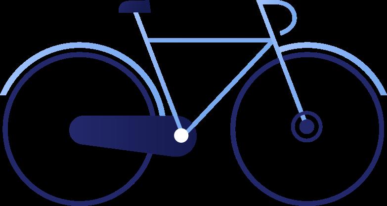 mit dem fahrrad Clipart-Grafik als PNG, SVG
