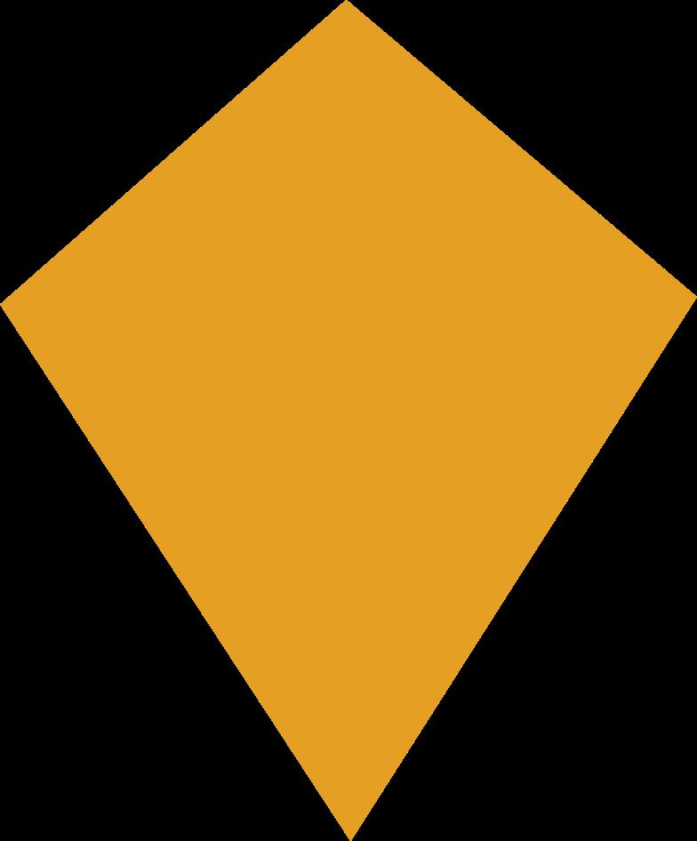 Drachen orange Clipart-Grafik als PNG, SVG