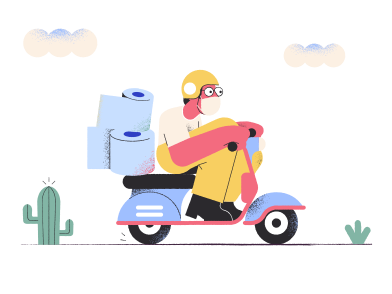style Pandemic delivery images in PNG and SVG | Icons8 Illustrations