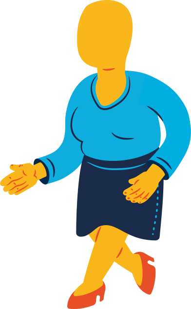 style chubby woman walking images in PNG and SVG | Icons8 Illustrations