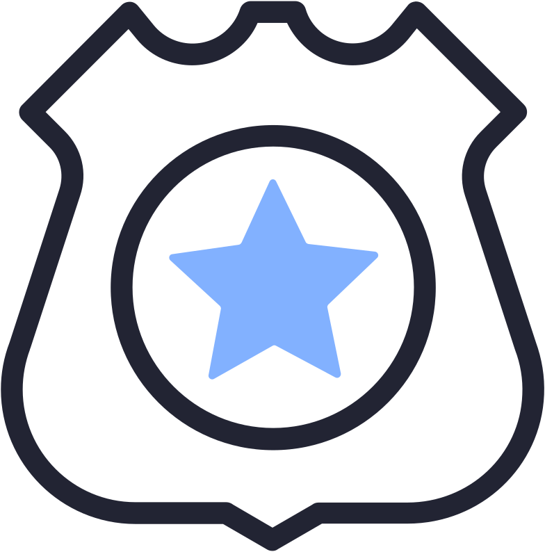 style police badge Vector images in PNG and SVG | Icons8 Illustrations