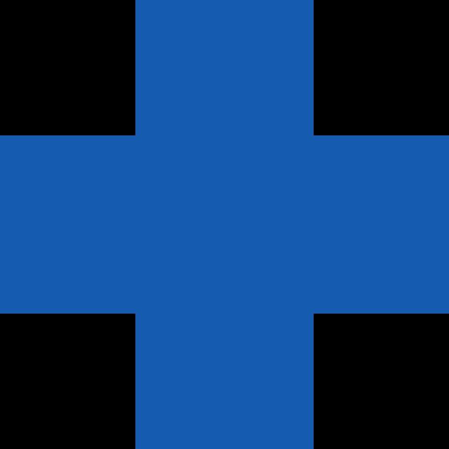 cross-blue Clipart illustration in PNG, SVG