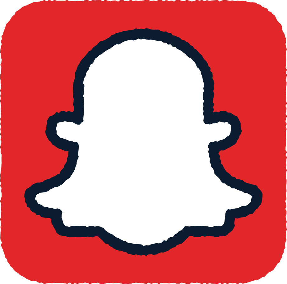 social media snapchat Clipart illustration in PNG, SVG