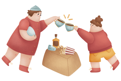 style Tea party images in PNG and SVG | Icons8 Illustrations